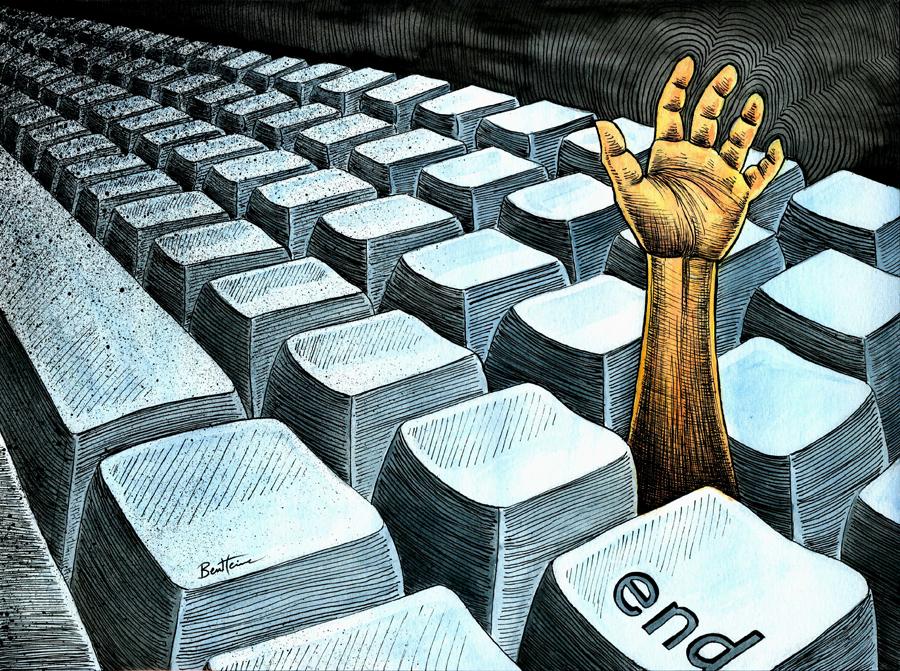 ICT Overdose by BenHeine