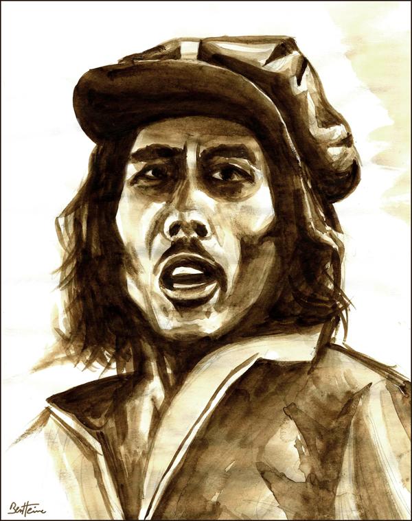 Rasta Man - Bob Marley by BenHeine