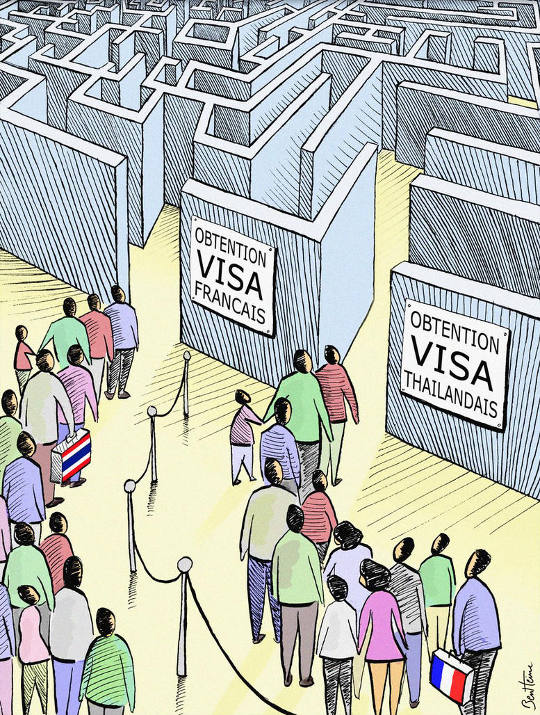 VISAS, What a Pain by BenHeine