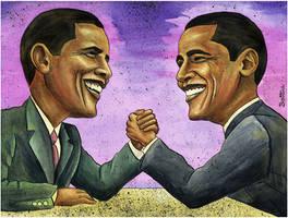 Obama's Toughest Opponent by BenHeine