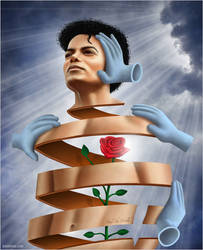 Michael Jackson-Heal the world by BenHeine