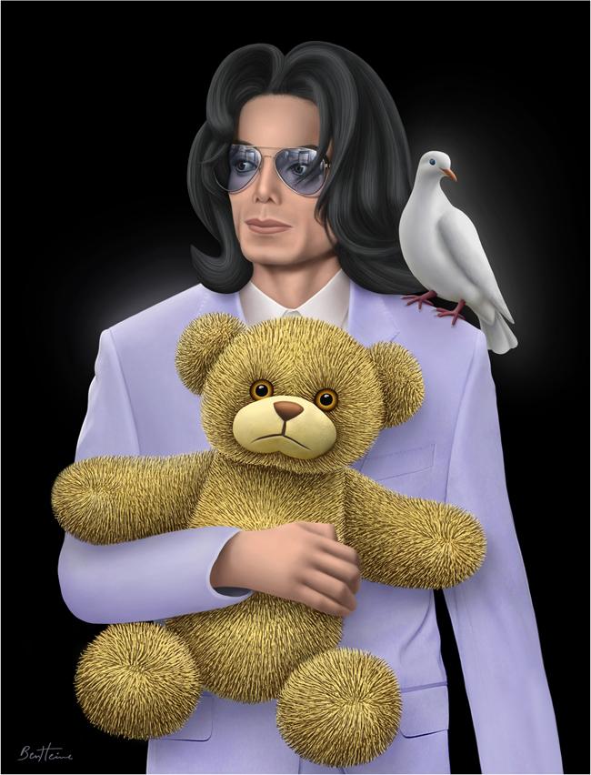 Michael Jackson, Eternal Child by BenHeine