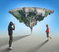 Mont Saint Michel Revisited by BenHeine