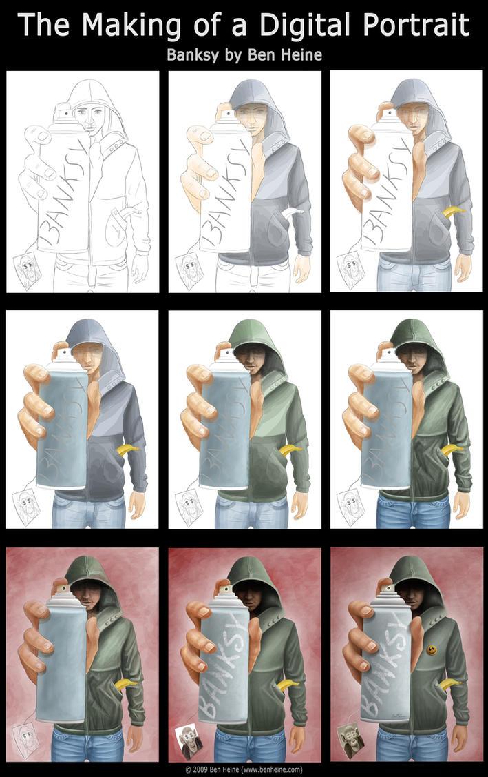 Making of - Banksy by BenHeine