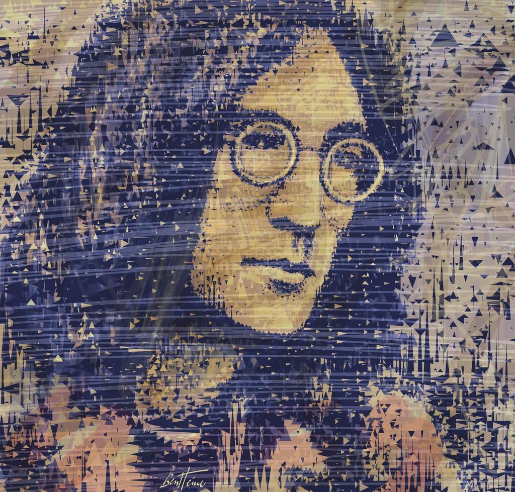 John Lennon by BenHeine