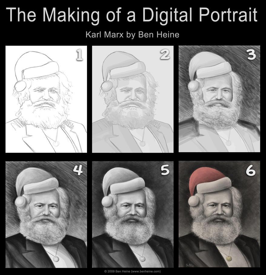 Making Of - Karl Marx by BenHeine
