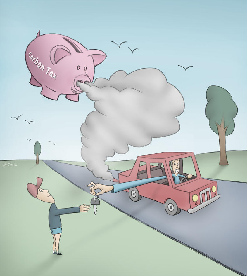 Carbon Tax by BenHeine