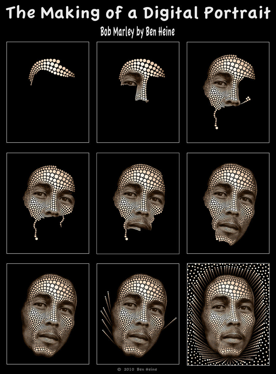 Making of - Bob Marley by BenHeine