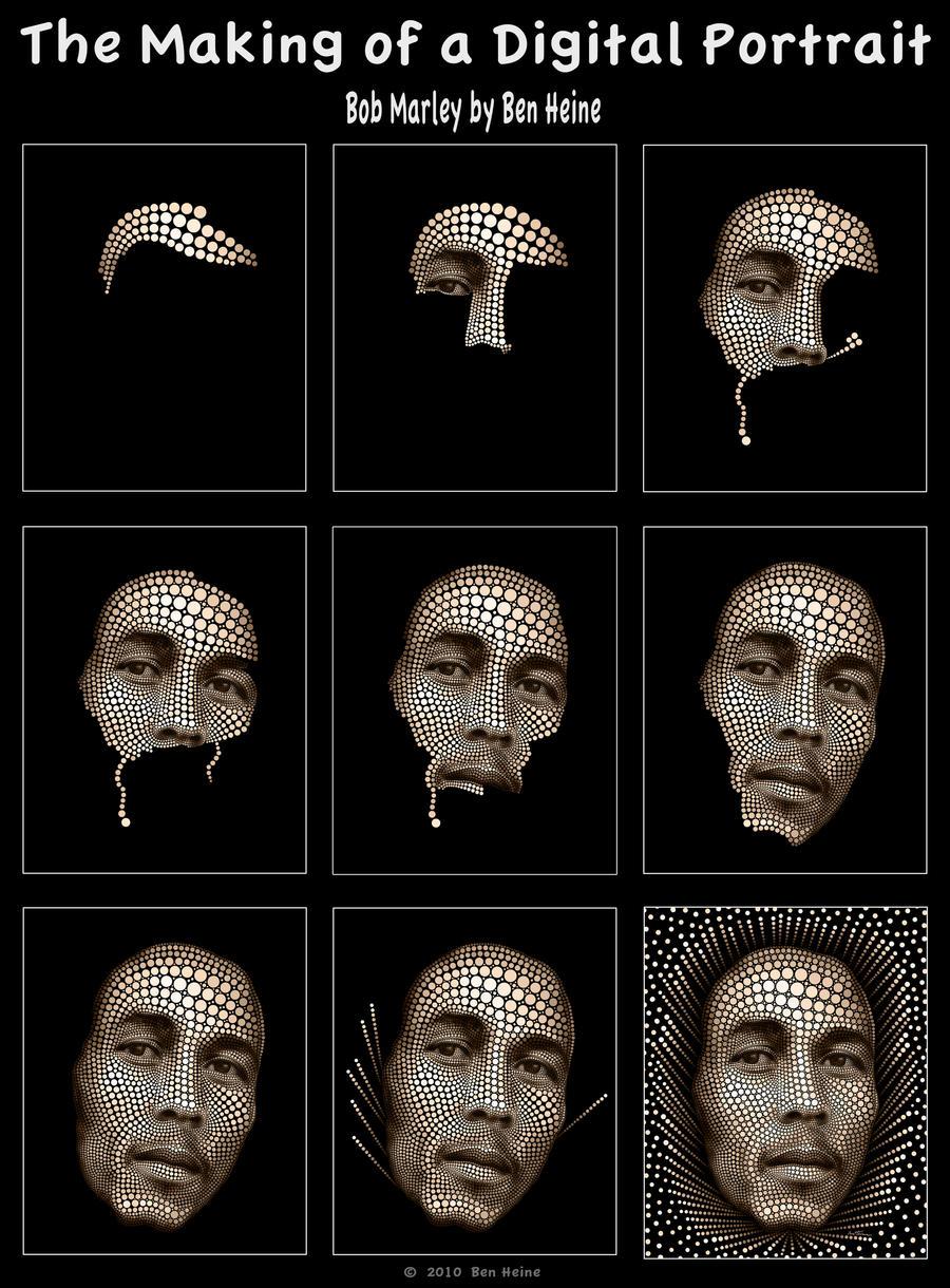 Making of - Bob Marley by BenHeine