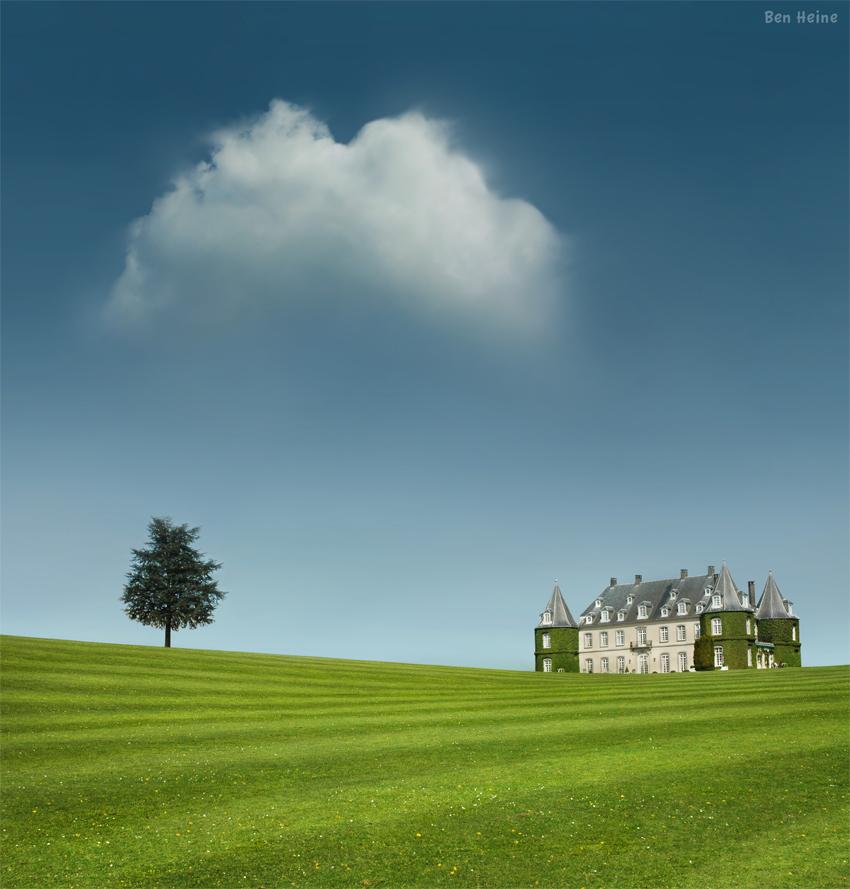 La Hulpe Castle by BenHeine
