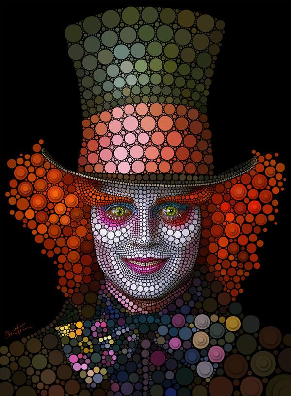 Mad Hatter - Johnny Depp by BenHeine