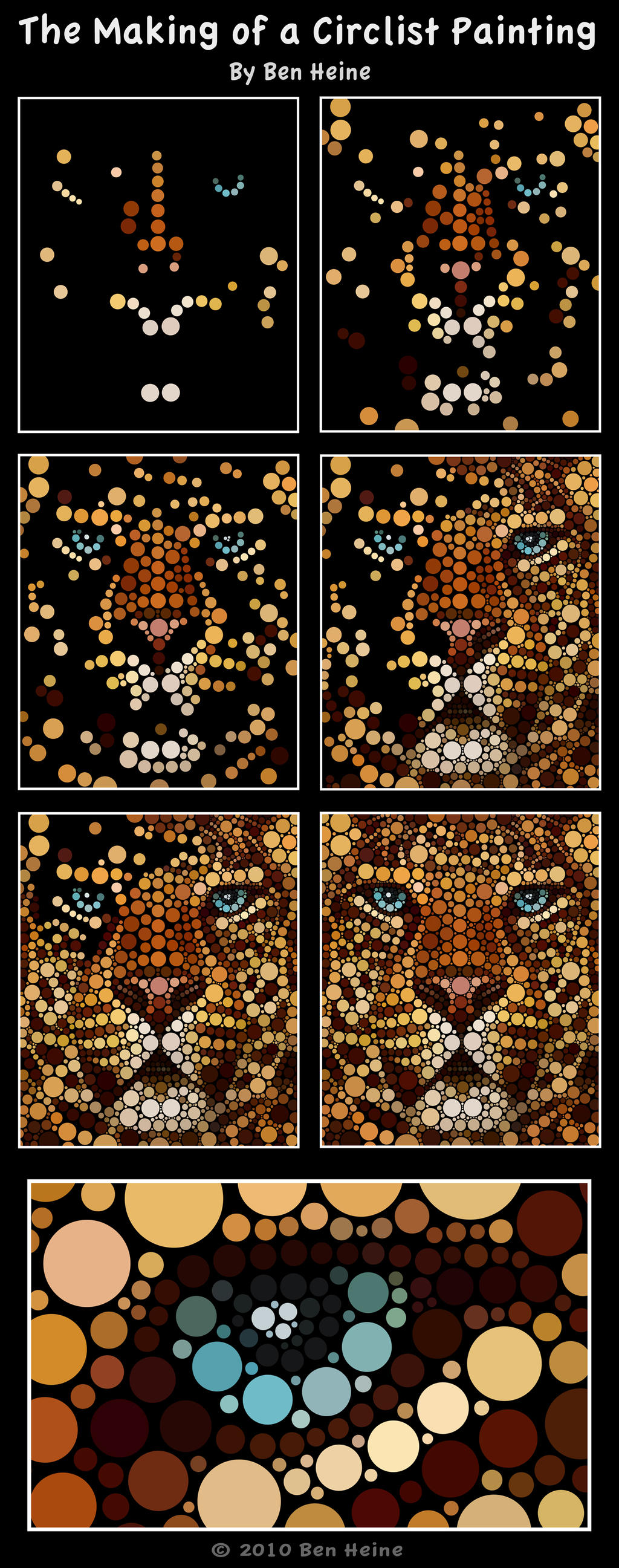 Making of - Leopard by BenHeine
