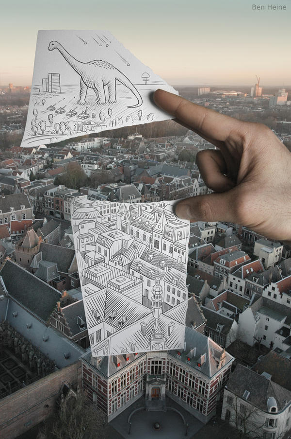 Pencil Vs Camera - 8 by BenHeine