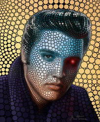 Elvis Presley by BenHeine