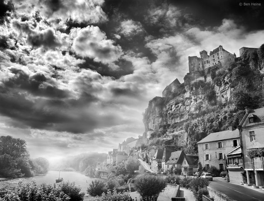 Castle of Beynac - 1 by BenHeine