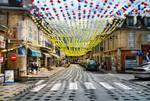 Street in Montignac - 1