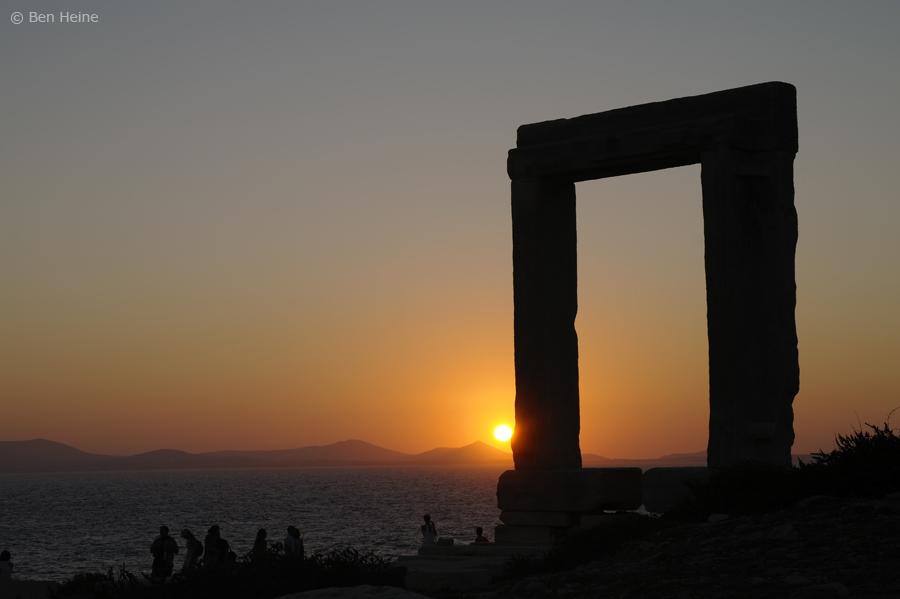 Portara - Naxos - 2 by BenHeine