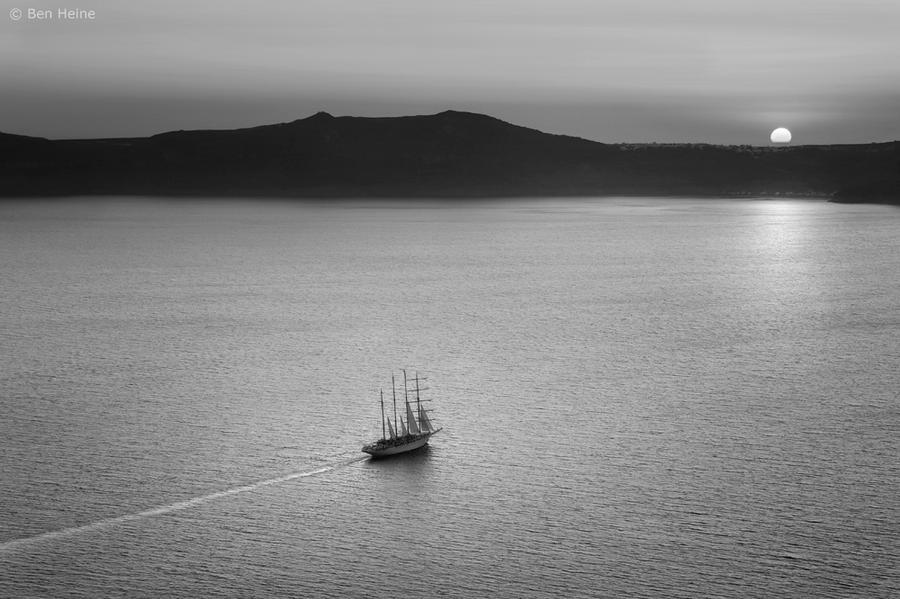 Evening Traveller by BenHeine