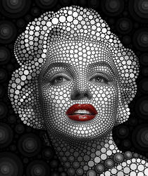 - Marilyn Monroe - by BenHeine