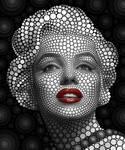 - Marilyn Monroe - by BenHeine