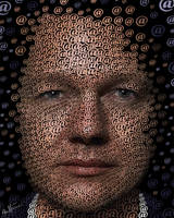 Julian Assange by BenHeine