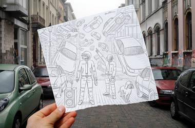 Pencil Vs Camera - 47 by BenHeine