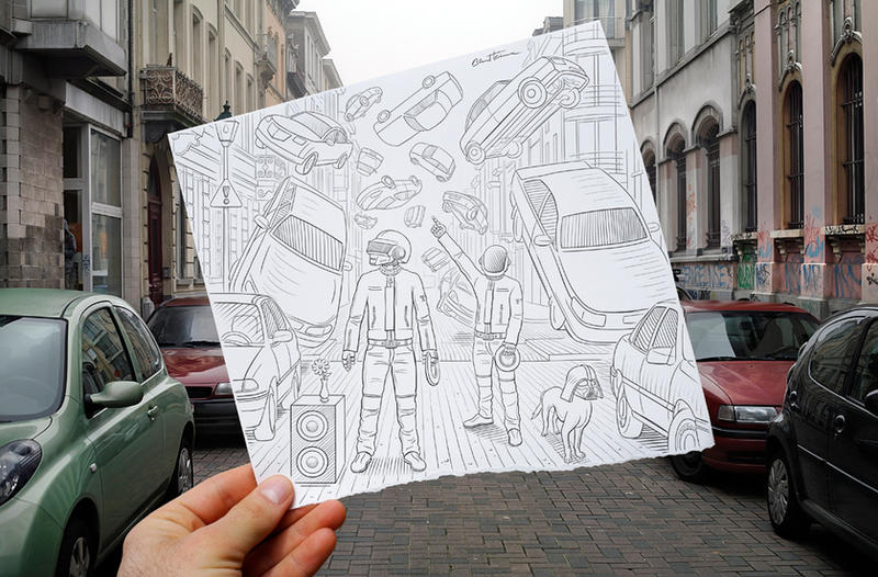 Pencil Vs Camera - 47 by BenHeine