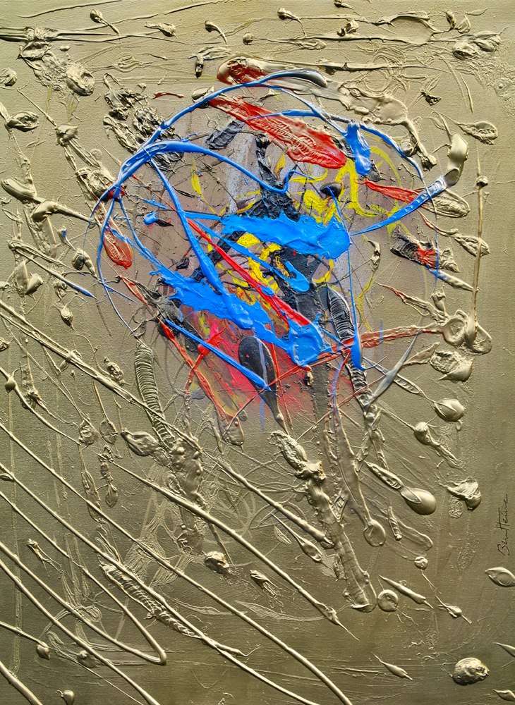 Blue Effusion by BenHeine