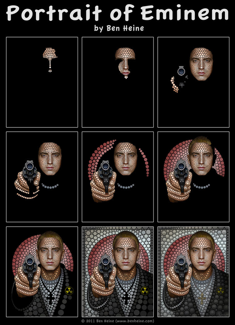 Making of - Eminem by BenHeine