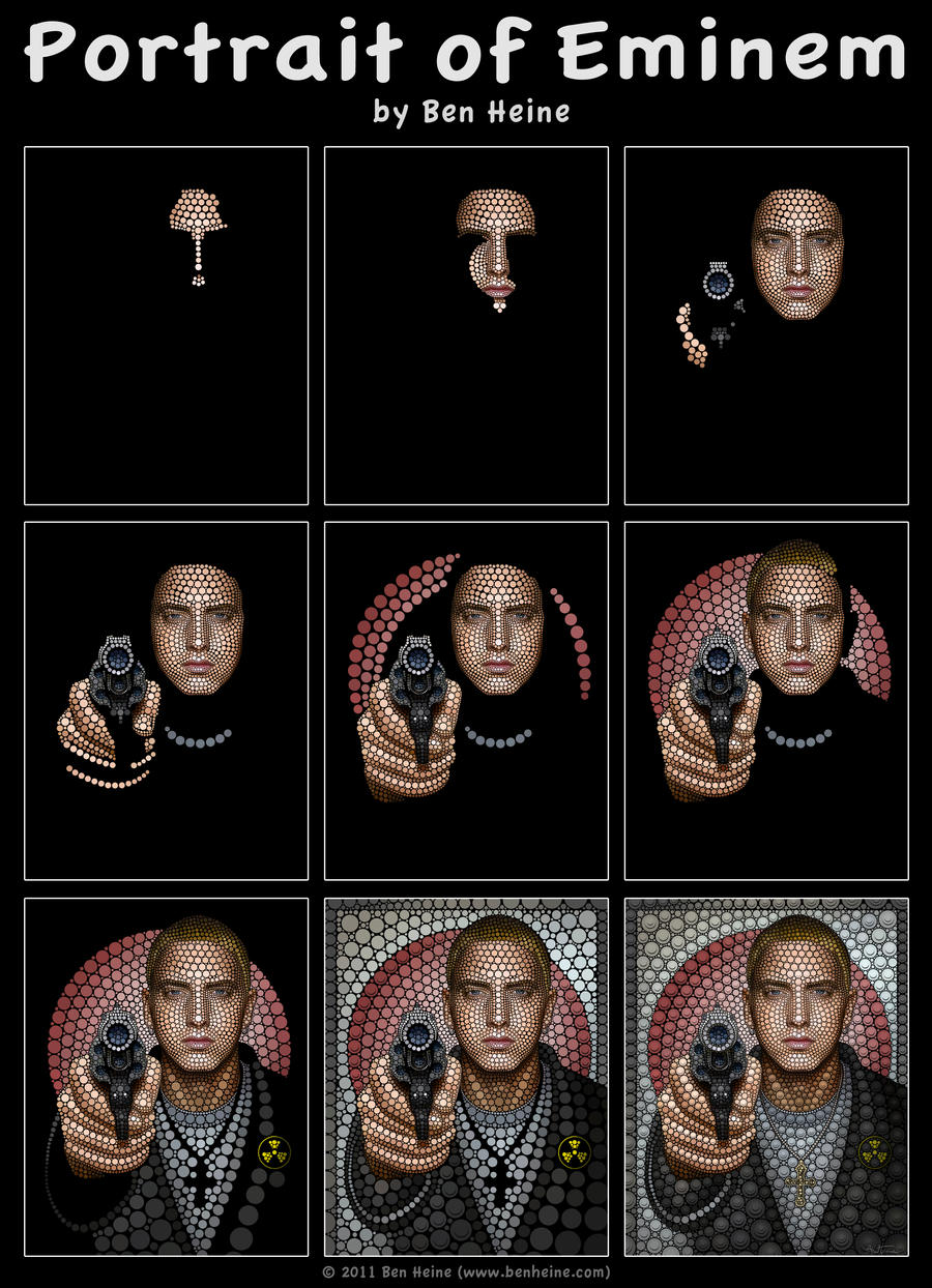 Making of - Eminem by BenHeine