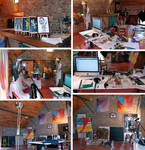 My Studio in Braives