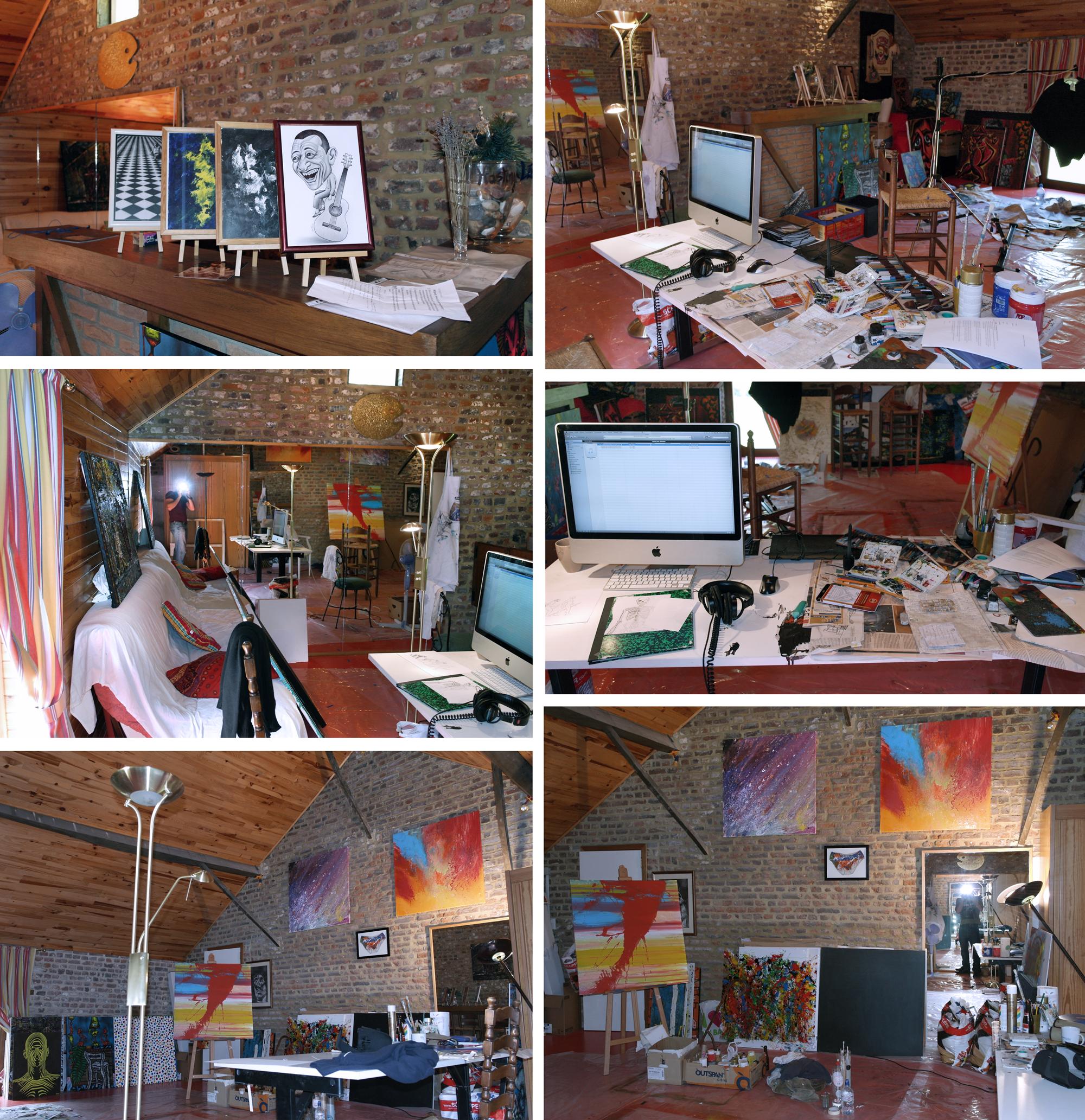 My Studio in Braives by BenHeine