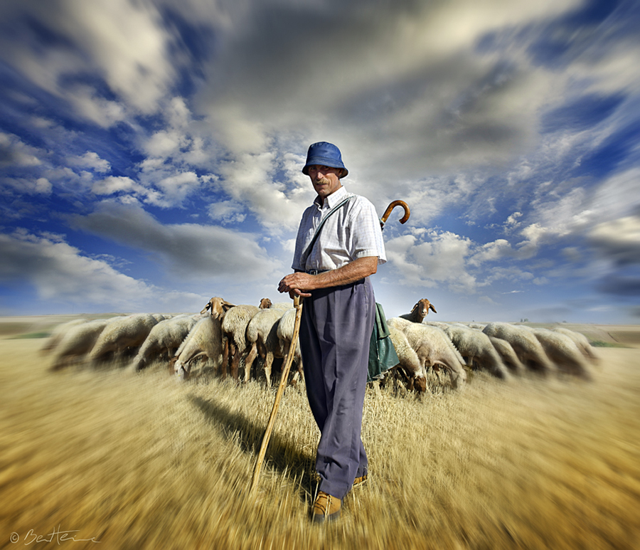 The Shepherd's Call by BenHeine
