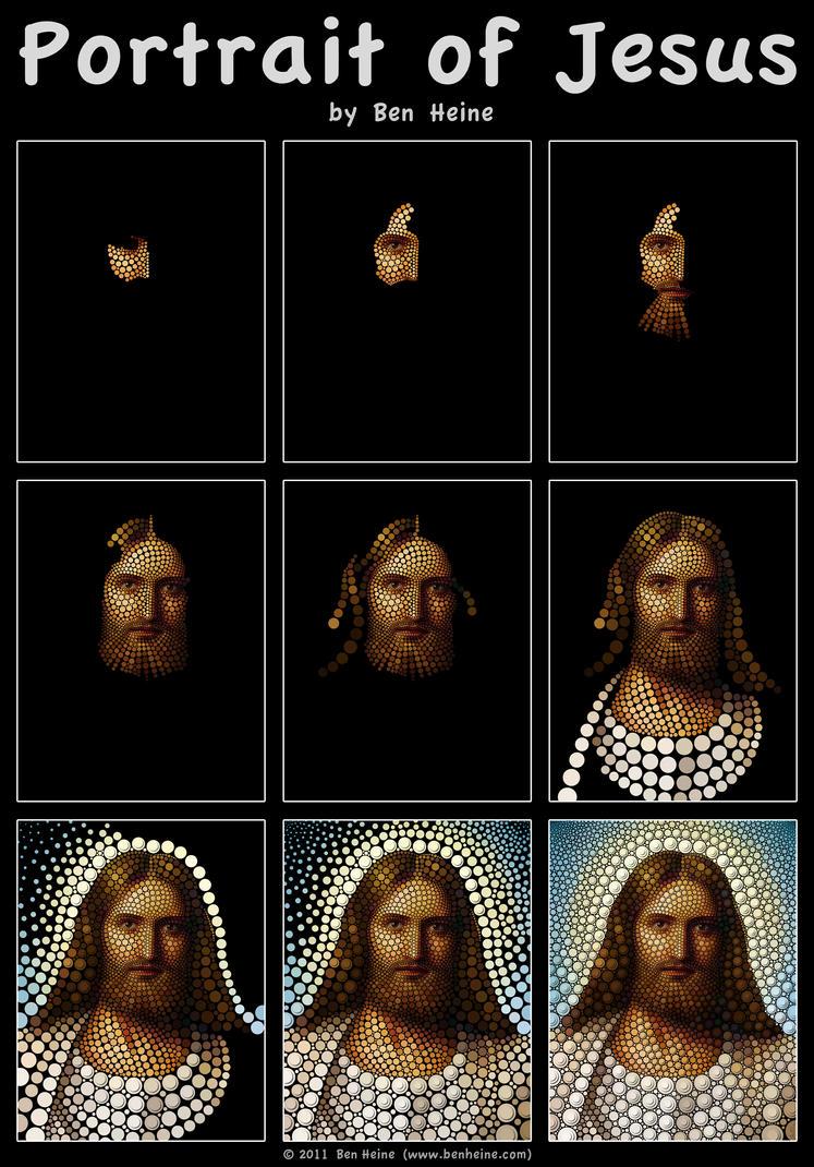 Work in Progress - Jesus by BenHeine