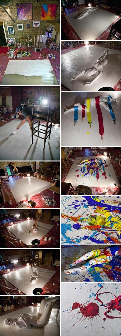 Flesh and Acrylic - Making 4 by BenHeine