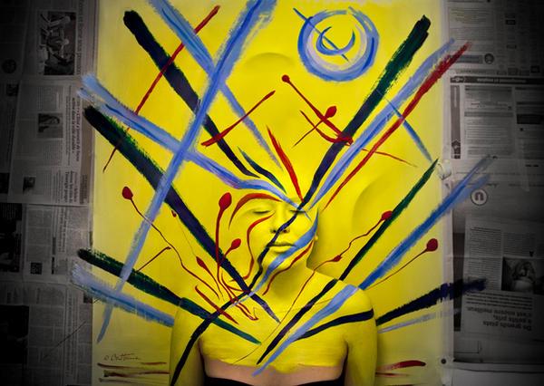Flesh and Acrylic - Julia