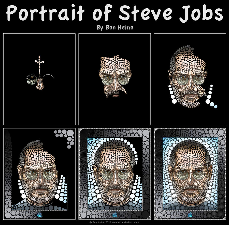 Work in Progress - Steve Jobs by BenHeine