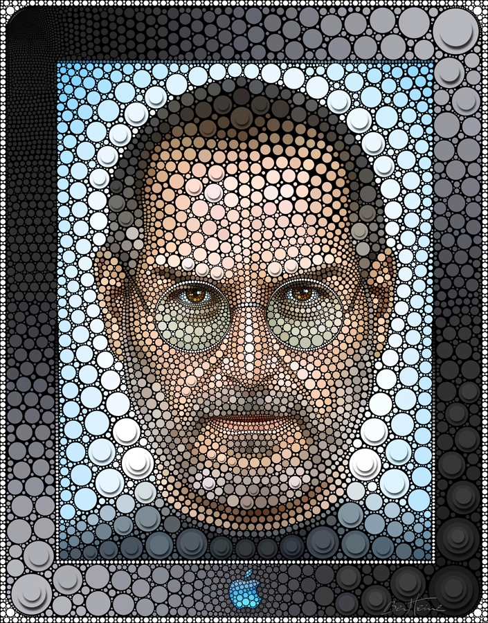 Steve Jobs by BenHeine