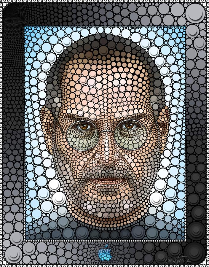 Steve Jobs by BenHeine