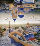 Santorini - Double Landscape