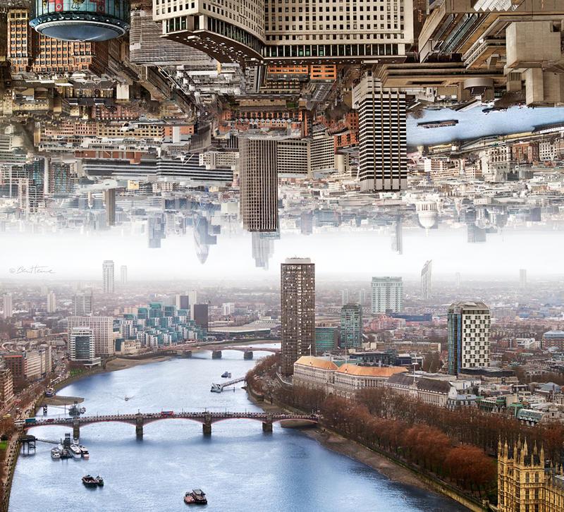 London - Double Landscape