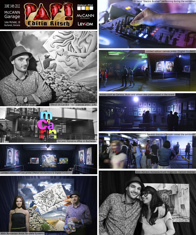 Exhibition - PAF - Bucharest by BenHeine