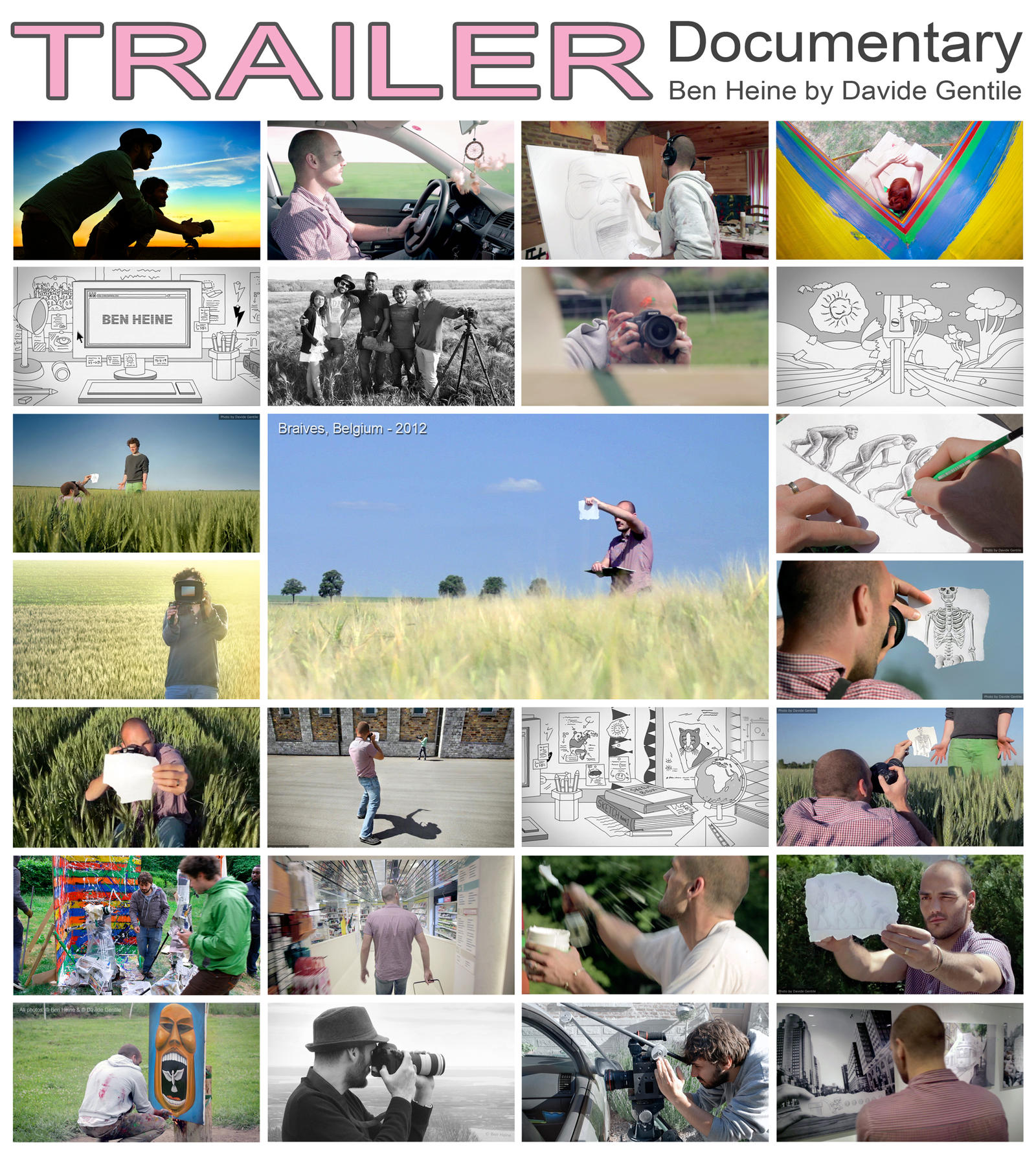 Trailer - Documentary (2012) by BenHeine