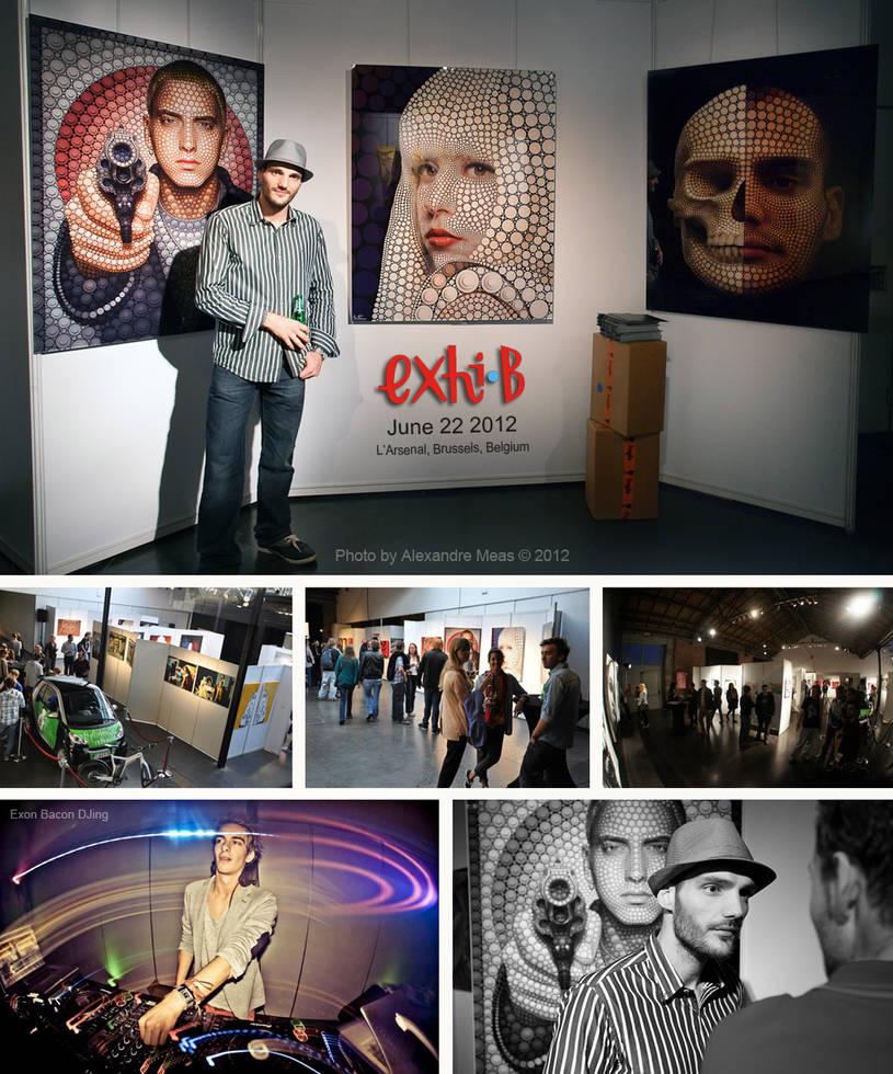 Exhibition - Exhi-B - Brussels by BenHeine