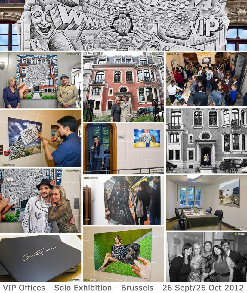 Exhibition - VIP Offices - Brussels by BenHeine