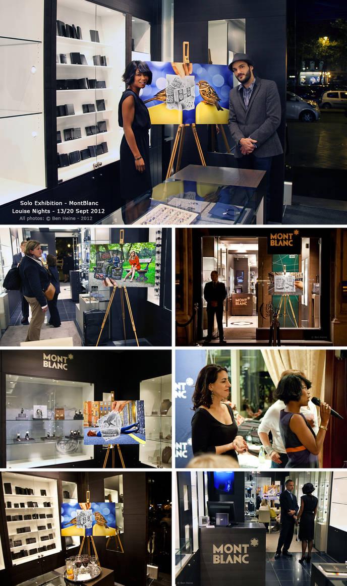 Exhibition - MontBlanc - Brussels/Amsterdam by BenHeine