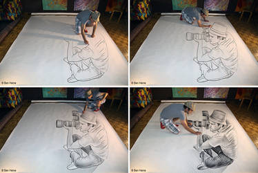 Sketch in Progress - Pencil Vs Camera - 73 by BenHeine