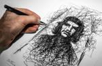Ballpoint Pen Sketch On Paper