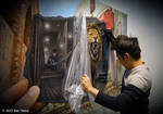 Mighty and Ferocious Lion - Exhibition in Seoul