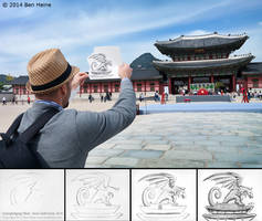 Sketch in Progress - Pencil Vs Camera - 76 by BenHeine